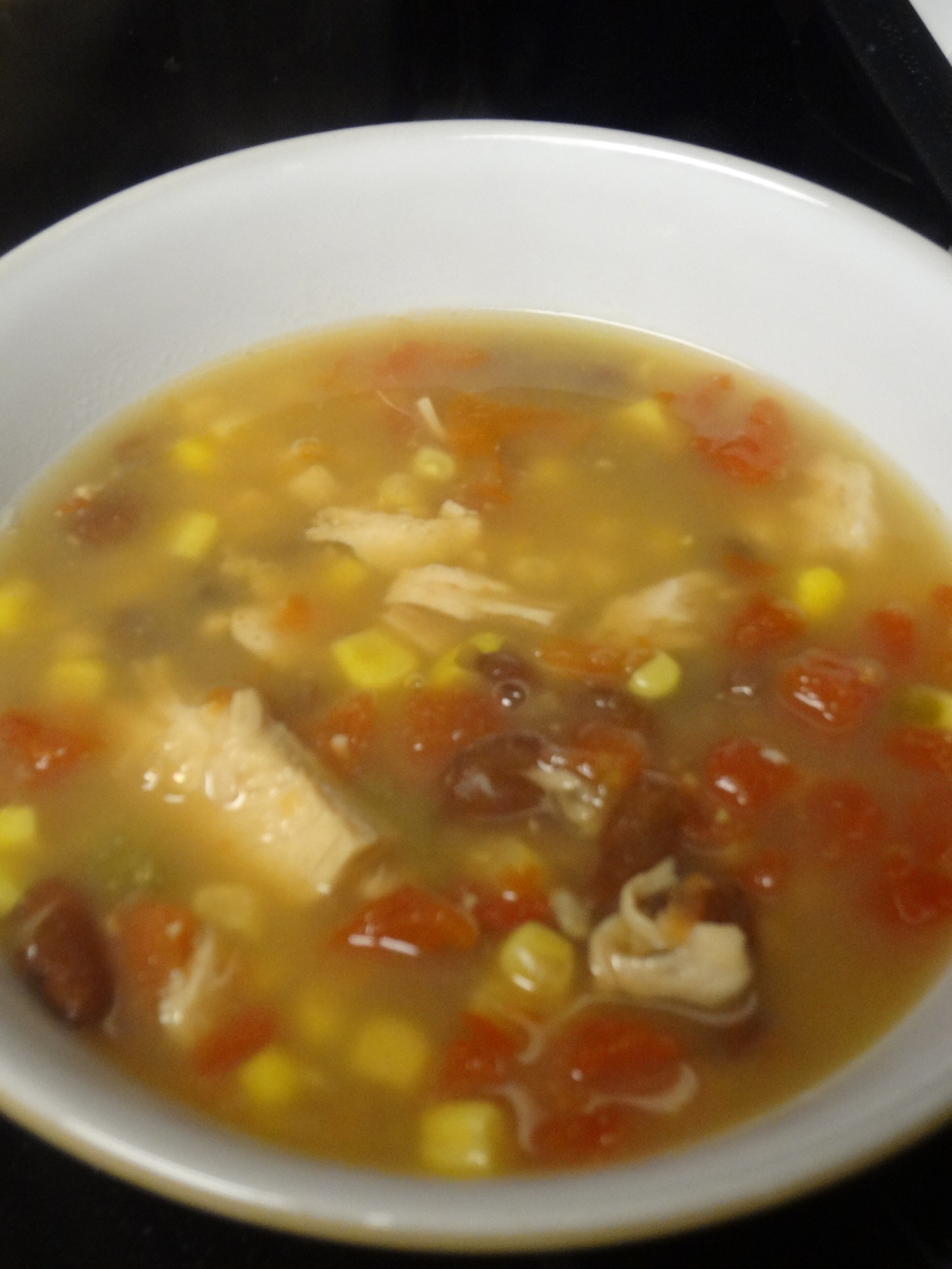 Can Chicken Tortilla Soup - Thrifty T's Treasures
