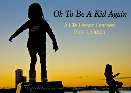 Oh To Be A Kid Again Tshanina Peterson