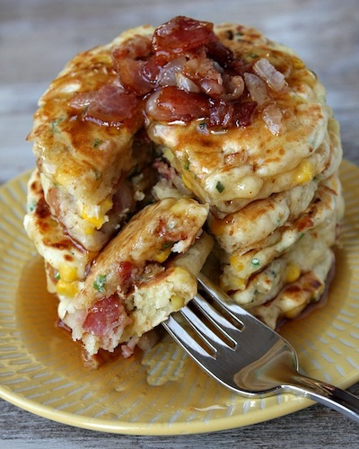 Bacon-and-Corn-Griddle-Cakes